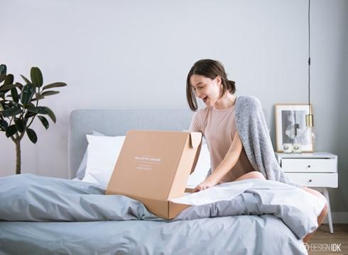 Shoplinen以低於4折 購買高級床上用品