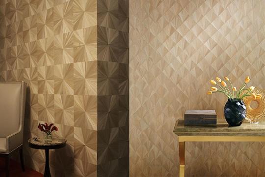【居家專欄】美國手繪3D牆紙 用上木皮+毛氈+麻繩等製作