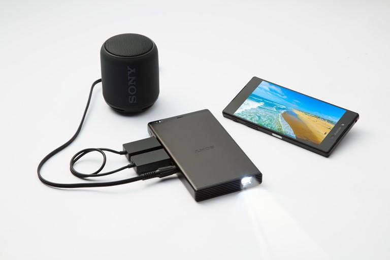 Sony 全新輕巧流動投影機 帶來更高效便利的投影屏幕