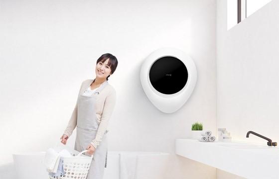 小米「個人專屬」掛牆式洗衣機