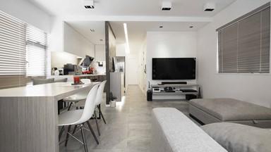 簡約家居設計 水泥特色牆成為屋內焦點