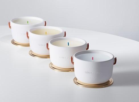 LOUIS VUITTON 四款全新奢華香氛蠟燭