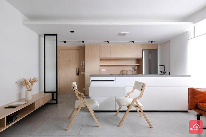 開放式廚房, 細單位設計