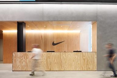 球場般的辦公室 - NIKE紐約總部