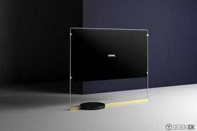藝術與電視 結合的Bild X OLED