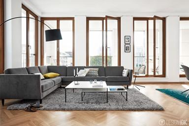 BoConcept 塑造你的黑色公寓