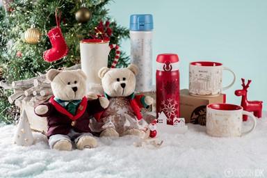 Starbucks 快樂紅色聖誕「杯」